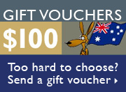 Lost for ideas? How about a Boomerang Books Gift Voucher!